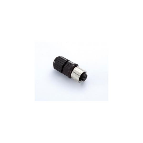 MOXA  M12A-5P-IP68  Разъем  Field-installable A-coded screw-in sensor connector, female